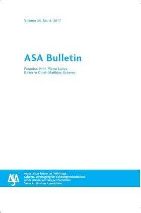 ASA Bulletin Online by KLI/TURPIN