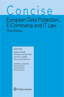 Concise European Data Protection, E-Commerce and IT Law, Third Edition by BULLESBACH